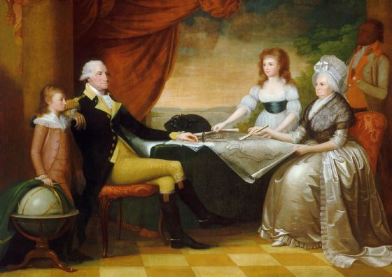 Savage, Edward: The Washington Family. Fine Art Print/Poster. Sizes: A4/A3/A2/A1 (004090)